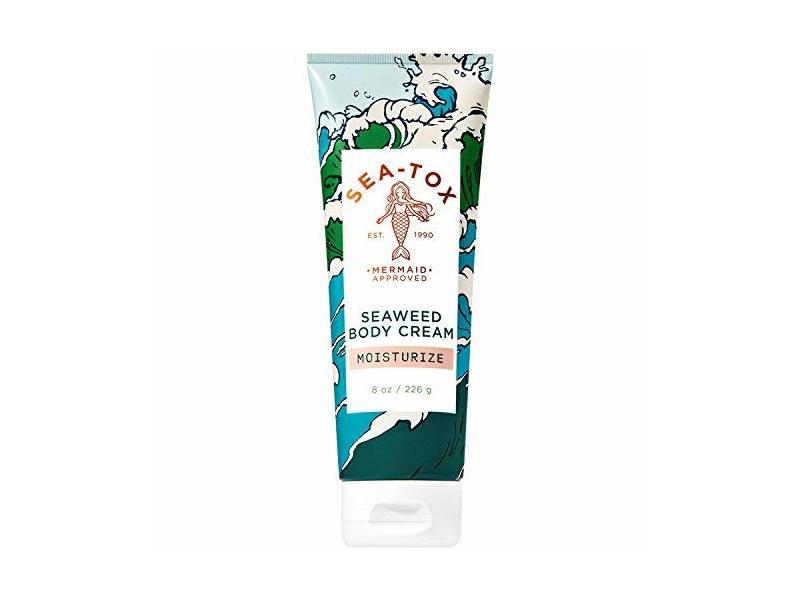 Bath and Body Works SEA-TOX Seaweed Body Cream, 8 Ounce