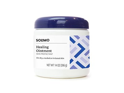 Solimo Healing Ointment Skin Protectant, Fragrance Free, 14 Ounce - Image 1