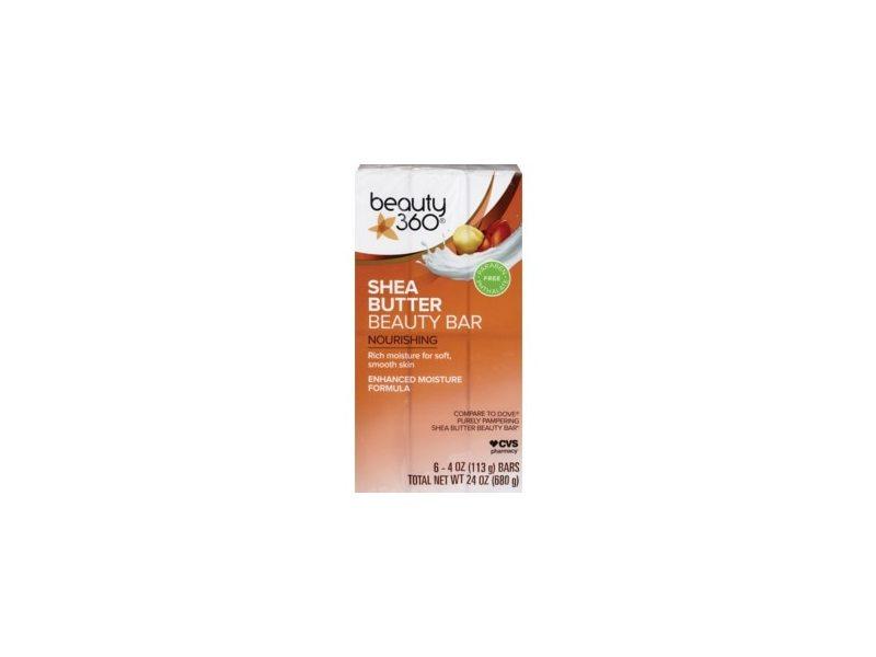 Beauty 360 Nourishing Shea Butter Beauty Bar