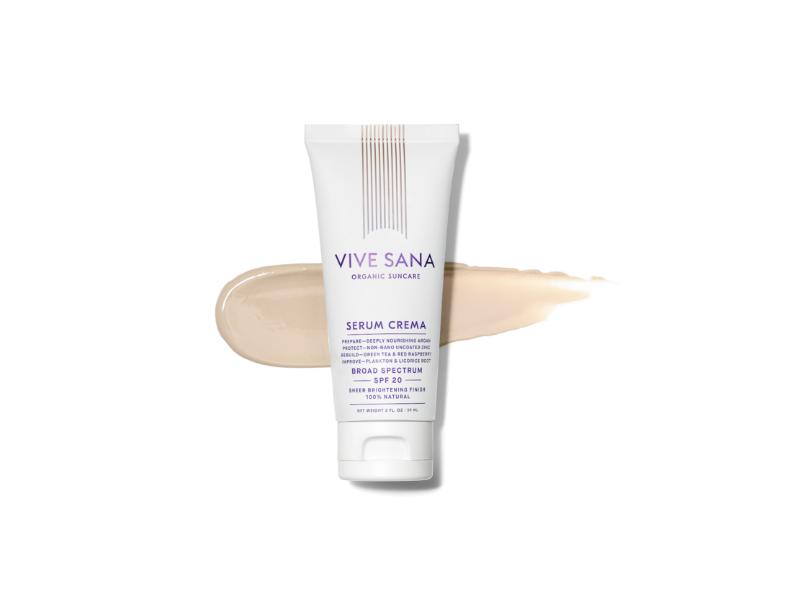Vive Sana Serum Crema Broad Spectrum SPF 20 Sunscreen, 2 fl oz
