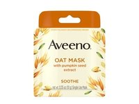 Aveeno Single Use Oat Soothing Face Mask, Pumpkin Seed Extract - Image 2