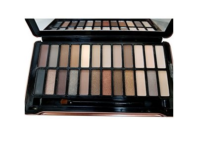 Nabi Cosmetics 24-Color Eye Shadow, 24 x 1.5 g