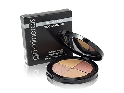 GloShimmer Brick Highlight Powder, Luster, 7.4g/0.26oz