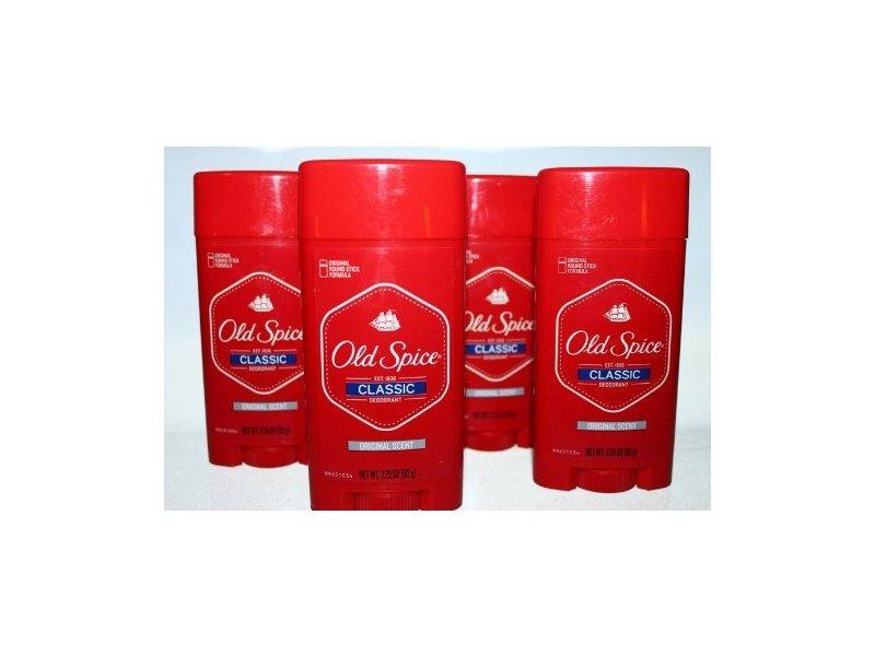 Old Spice Deodorant Classic Original Scent, 6.5 oz
