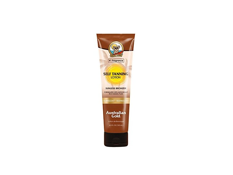 Australian Gold Self Tanning Lotion, Sunless Instant Bronze, Fresh Fragrance 4.5 Ounce