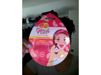 Yes To Grapefruit Vitamin C Glow Boosting Peel Off Mask, 0.33 fl oz, 2 ct. - Image 3