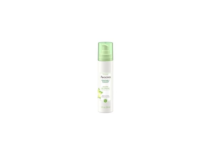 Aveeno Positively Radiant Micellar Gel Facial Cleanser