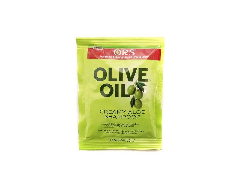 Organic Root Stimulator Olive Oil Creamy Aloe Shampoo, 1.75 fl oz/51.7 mL