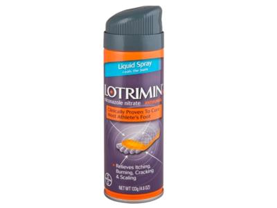 Lotrimin Antifungal Athlete's Foot Liquid Spray, 4.6 oz