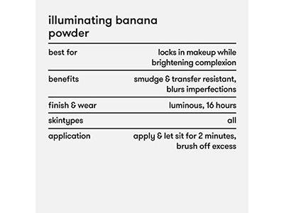 Dermablend Illuminating Banana Powder, Loose Setting Powder, 0.63 Oz. - Image 10