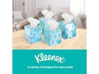 Kleenex Lotion Facial Tissues, Cooling, Coconut Oil, Vitamin E, Cube Box, 45 ct - Image 7