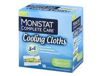 Monistat 3-In-1 Cooling Cloths, Cools On Contact, Soothes with Aloe and Vitamin D, 16 count - Image 2