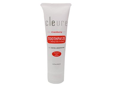 Cleure Toothpaste, Cranberry, 6.2 oz