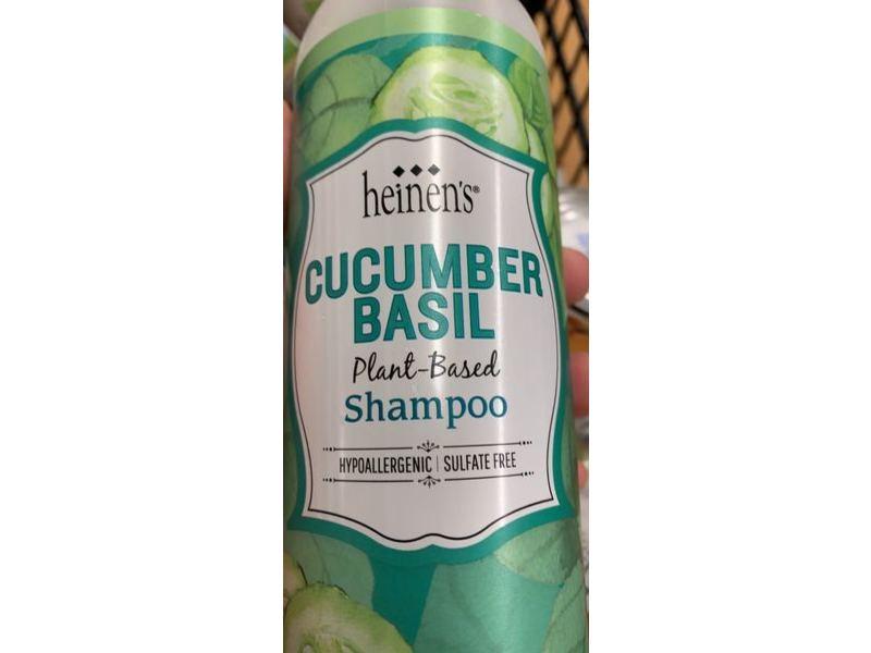 Heinen's Plant Based Shampoo, Cucumber Basil