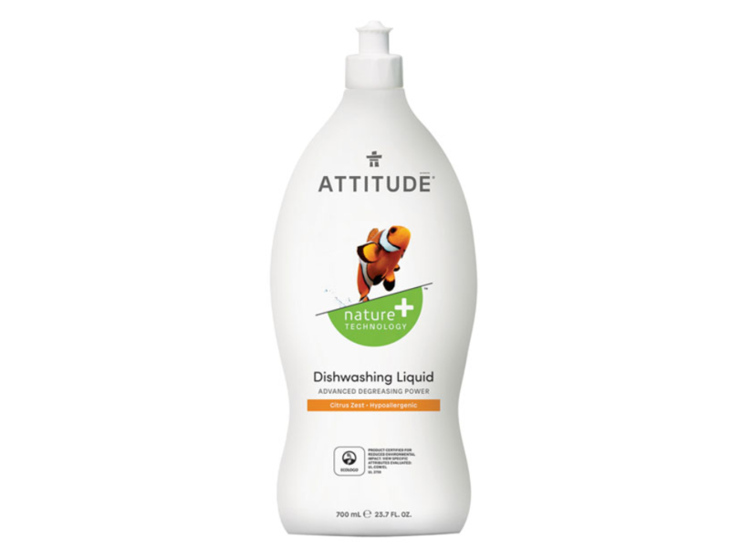 Attitude Dishwashing Liquid,Citrus Zest, 23.7 fl oz