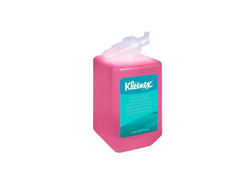 Kleenex Foam Skin Cleanser with Moisturizer, Floral Scent, 1.2 L