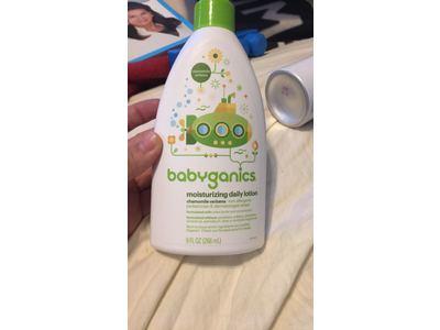 BabyGanics Moisturizing Daily Lotion, Chamomile Verbena, 9 fl oz - Image 3