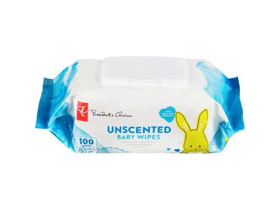 President's Choice Unscented Baby Wipes, 100 count