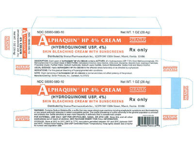 Alphaquin HP 4% Cream (RX), 1 oz Tube, Stratus Pharmaceuticals, Inc. - Image 1