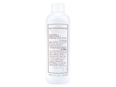 VMV Hypoallergenics Superskin 3 Monolaurin + Mandelic Acid Toner for Oily Skin, 5.0 fl oz