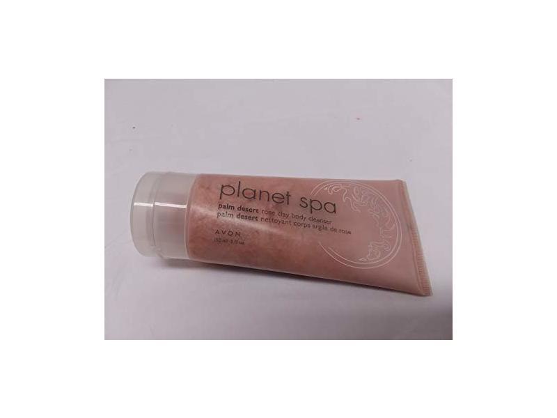 Avon Planet Spa Palm Desert Rose Clay Body Cleanser