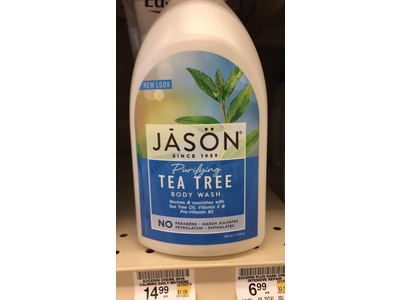 Jason Purifying Tea Tree Body Wash, 30 fl oz - Image 6