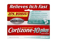 Cortizone-10 Plus Maximum Strength Anti-Itch Cream with Aloe, 1.25 oz - Image 2