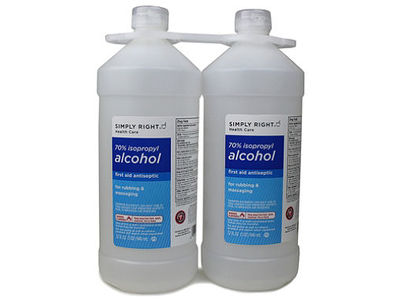 Simple Right Health Care 70% Isopropyl Alcohol, 946 ml