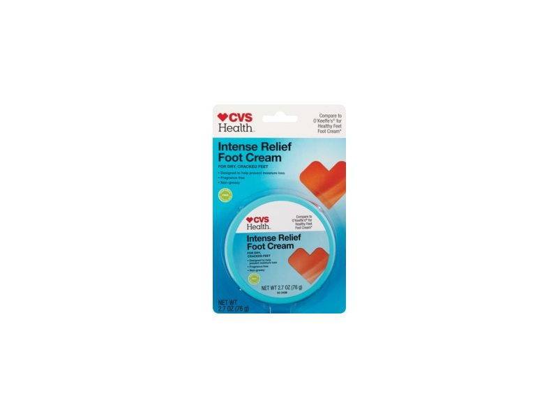 CVS Health Intense Relief Foot Cream