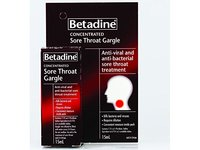 Betadine Concentrated Sore Throat Gargle, 15 mL - Image 2