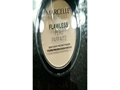 Marcelle Flawless Pressed Powder, Nude Beige, 0.25 oz - Image 3