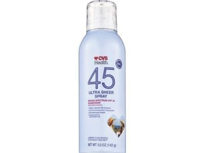 CVS Health Sheer Mist Sunscreen SPF 45