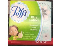 Puffs Plus Lotion Facial Tissue, White, 48 Count - Image 3