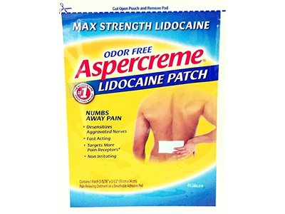 Aspercreme Lidocream Patch, 12 Count