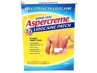 Aspercreme Lidocream Patch, 12 Count - Image 2