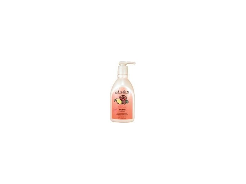 Jason Natural Products Body Wash, Citrus Satin, 30 Fl oz
