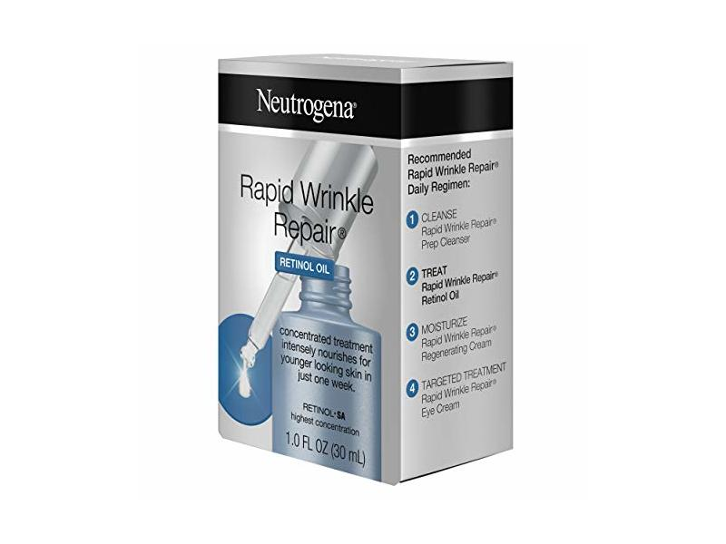 Neutrogena Rapid Wrinkle Repair Retinol Oil With Concentrated Retinol Sa 1 0 Fl Oz 1 Fluid Ounce Ingredients And Reviews