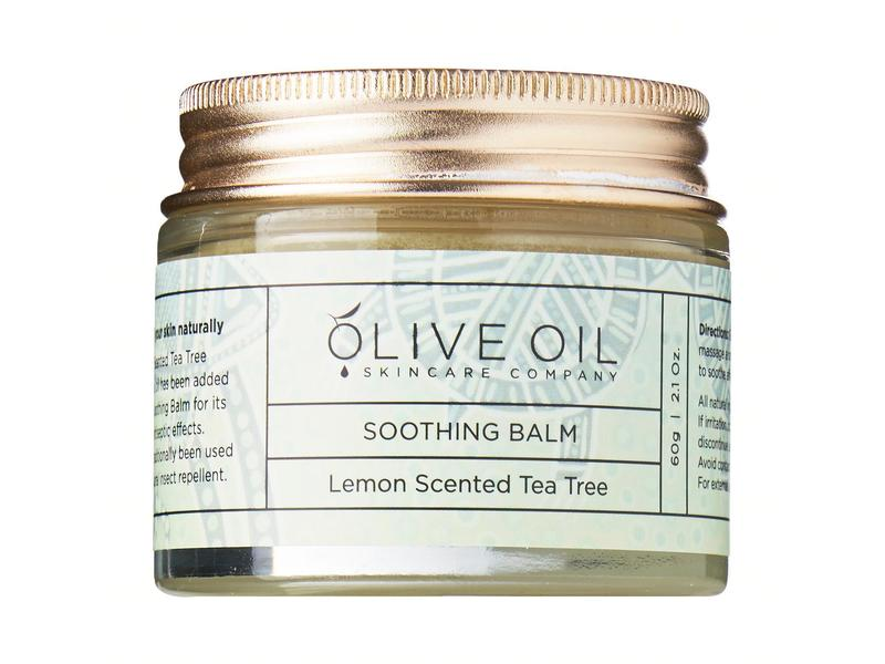 Olive Oil Skincare Company Lemon Scented Tea Tree Soothing Balm, 60 g