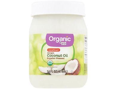 Great Value Organic Unrefined Virgin Coconut Oil, 14 fl oz