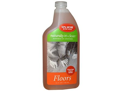 Naturally Its Clean Floors cleaner, 24 Ounce