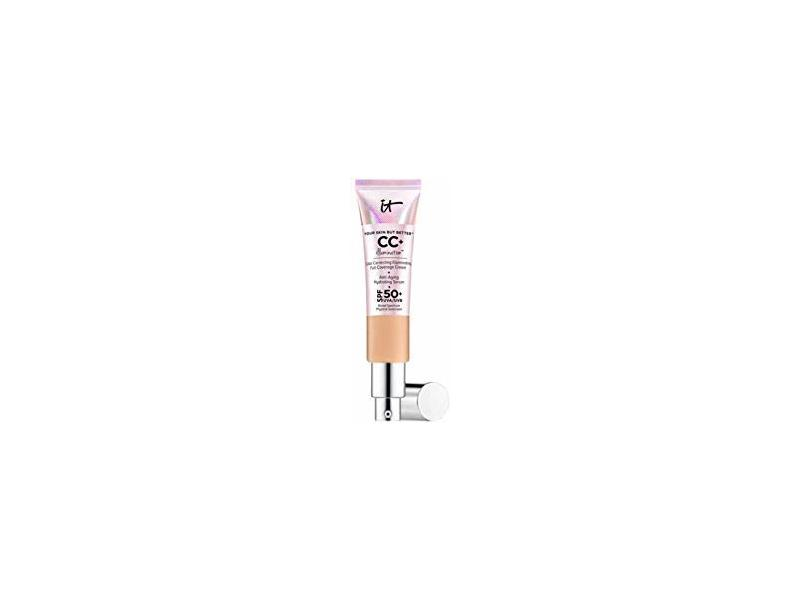 It Cosmetics CC+ Illumination Cream, SPF 50+ Light Medium, 1.08 fl oz