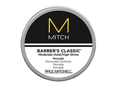 Paul Mitchell by Paul Mitchell Mitch Barber's Classic Moderate Hold/High Shine Pomade for Men, 3 Ounce