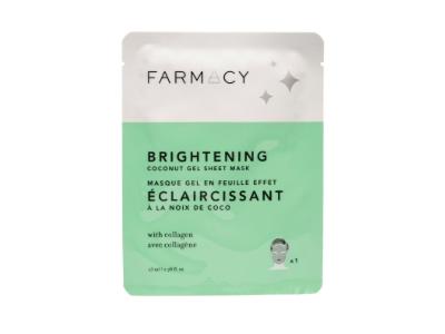Farmacy Brightening Coconut Gel Mask, 1 count