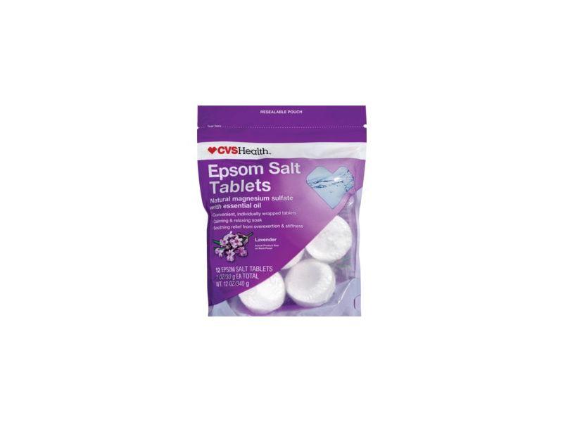 CVS Health Epsom Salt Tablets, Lavender