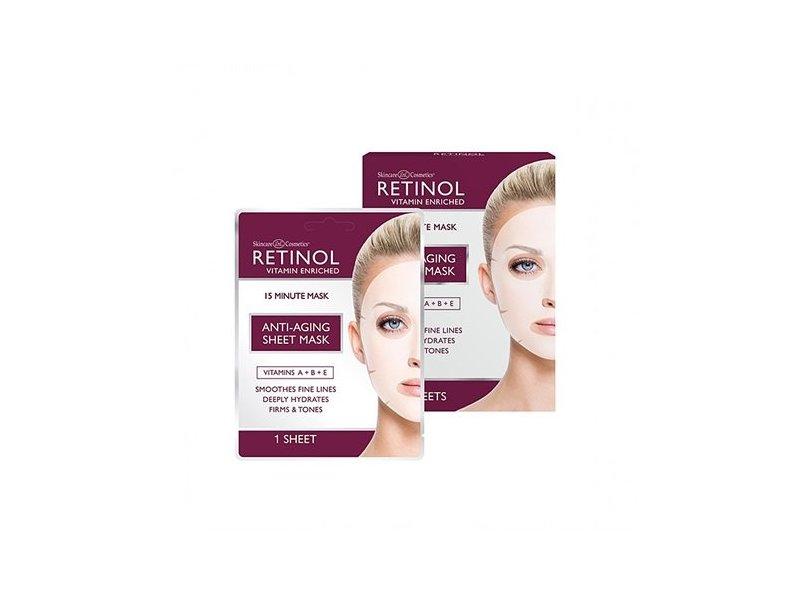 Retinol Skincare Anti-Aging Sheet Mask, 1 count
