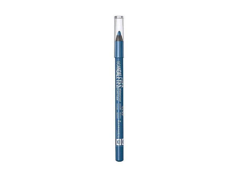Rimmel Scandaleyes Waterproof Kohl Kajal Eyeliner, Turquoise, 0.042 oz
