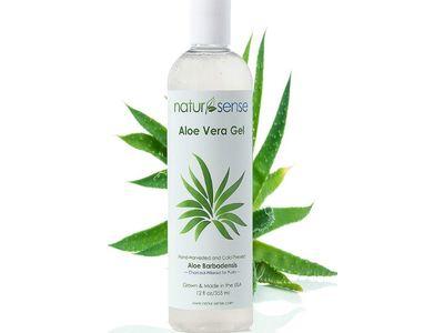 Nature Sense Aloe Vera Gel, Aloe Barbadensis, 12 fl oz