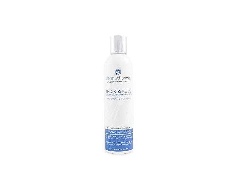 DermaChange Thick & Full Hair Growth Organic Conditioner, 8 oz