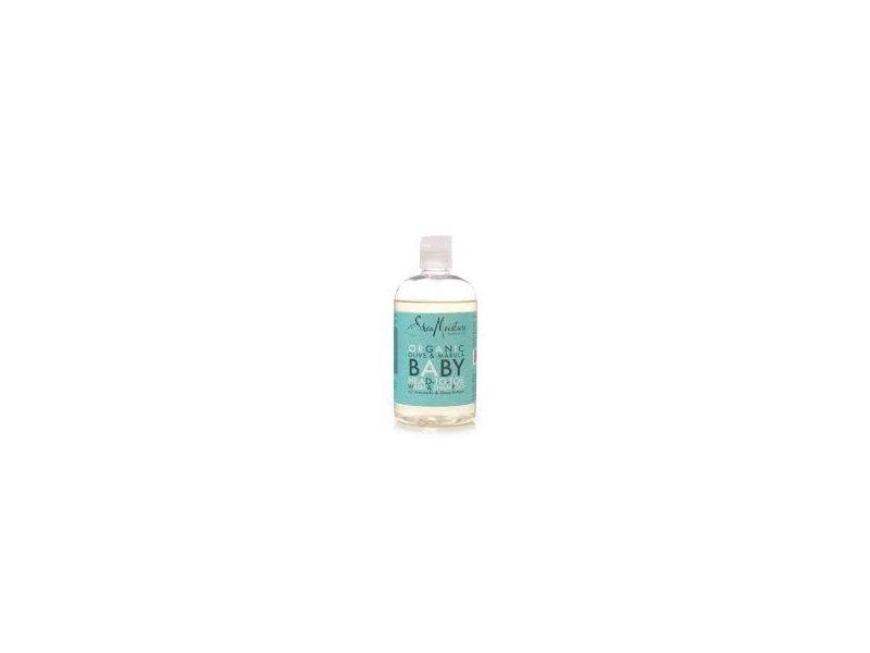 SheaMoisture Olive & Marula Baby Head-to-Toe Wash & Shampoo with Avocado & Shea Butter, 13 fl oz