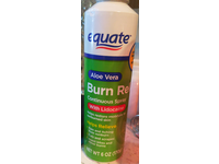 Equate Burn Relief Continuous Spray With Lidocaine, Aloe Vera, 6 oz - Image 2